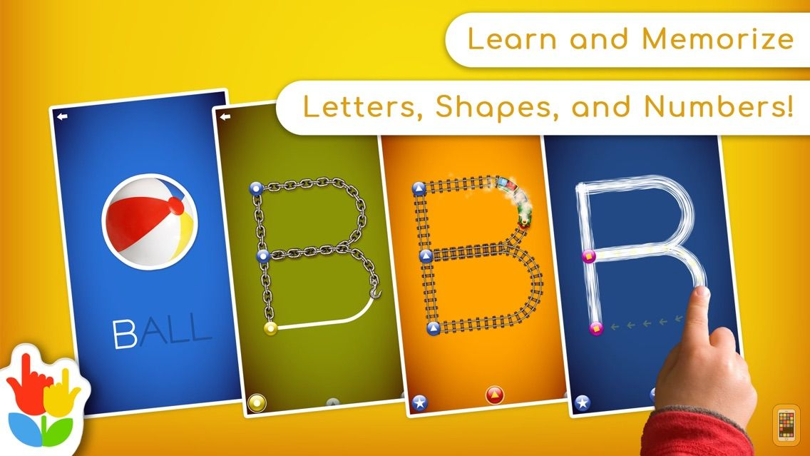 Screenshot - LetterSchool - Learn to Write!
