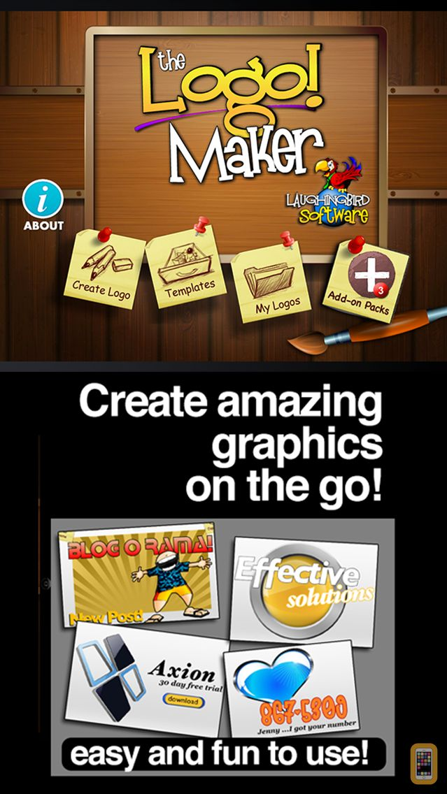 Screenshot - The Logo Maker App