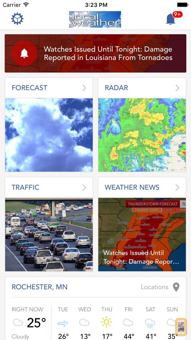 Screenshot - Local Weather Radar & Forecast