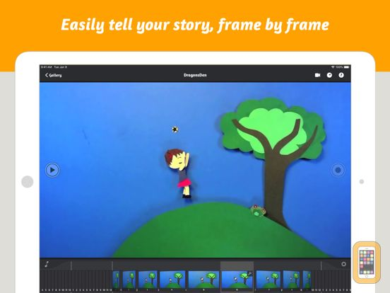 Screenshot - iStopMotion for iPad