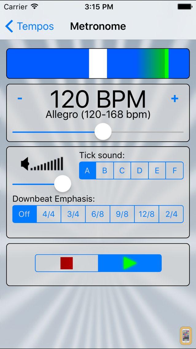 Screenshot - Metronome!!