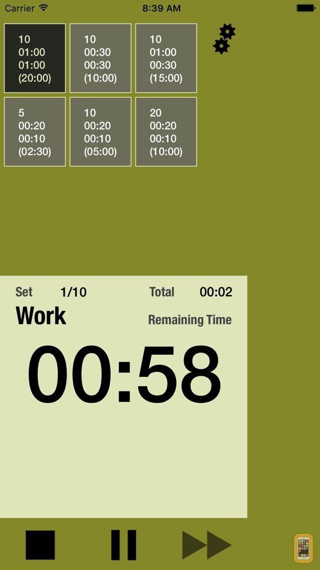 Screenshot - Interval Training Timer
