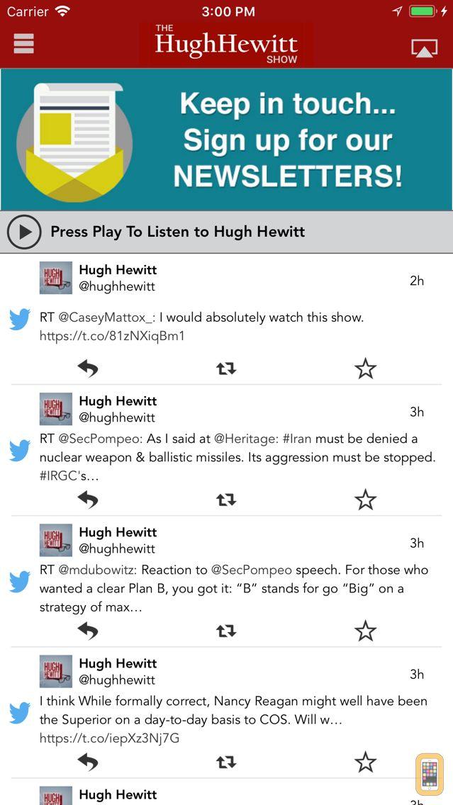 Screenshot - Hugh Hewitt