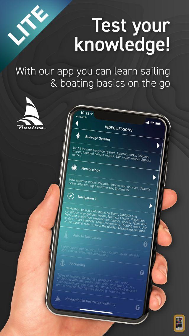 Screenshot - Sailing Quiz HD