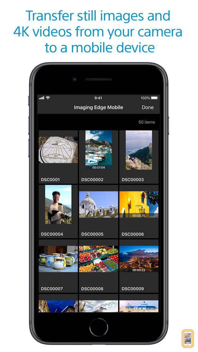Screenshot - Imaging Edge Mobile