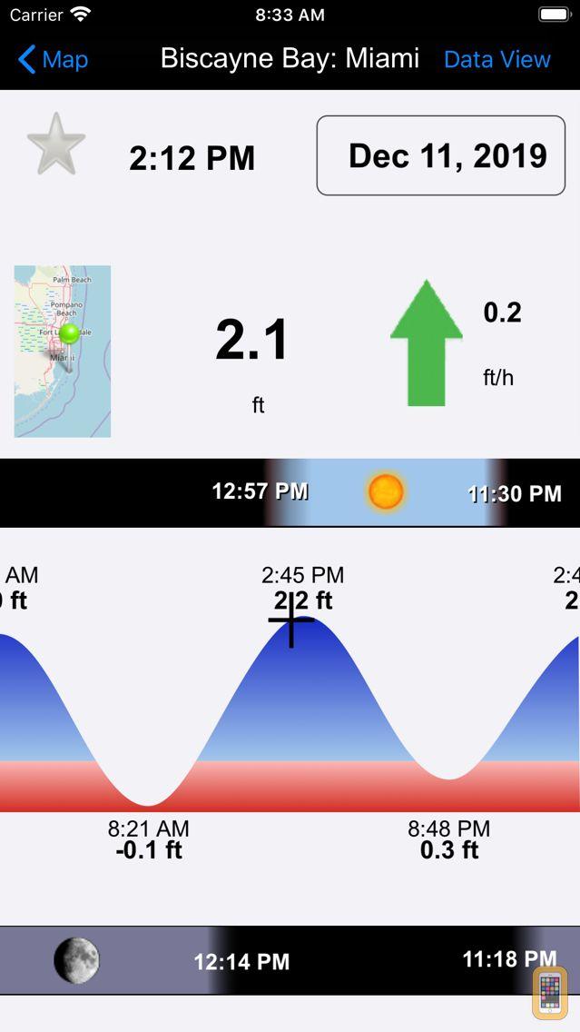 Screenshot - Real Tides and Current HD nautical charts forecast