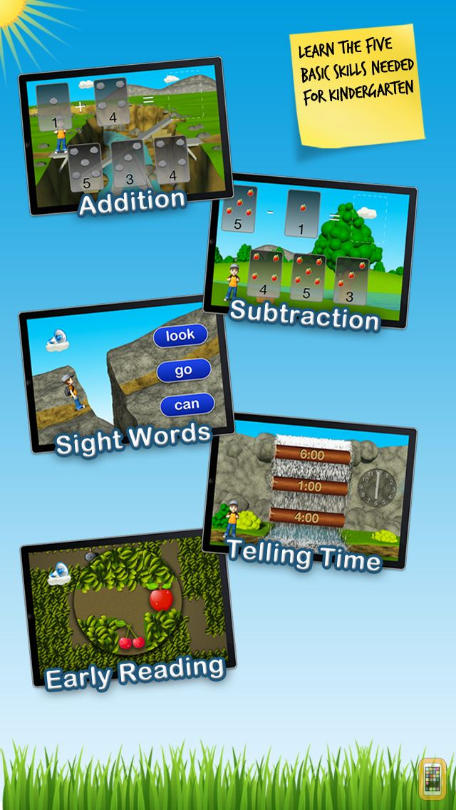 Screenshot - Timmy's Kindergarten Adventure - Fun Math, Sight Words and Educational Games for Kids