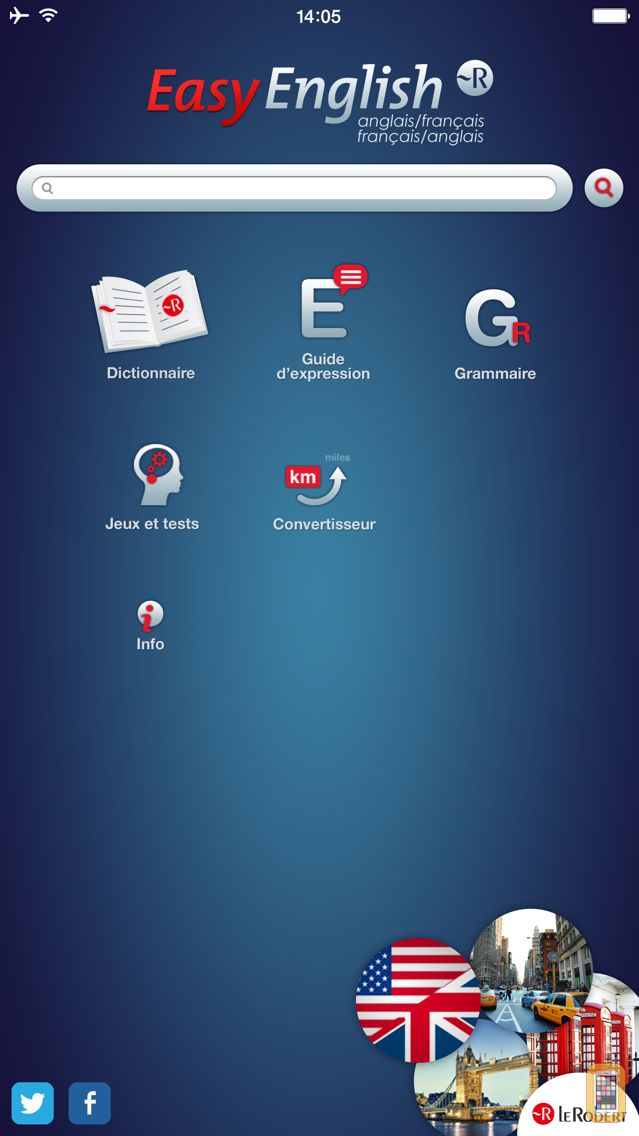 Screenshot - Le Robert Easy English : English for beginners : dictionary, grammar,  communication guide and quizzes, in a single app