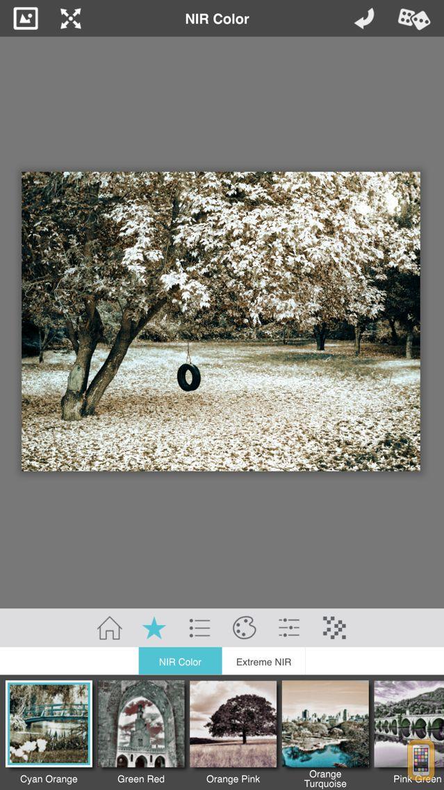 Screenshot - NIR Color