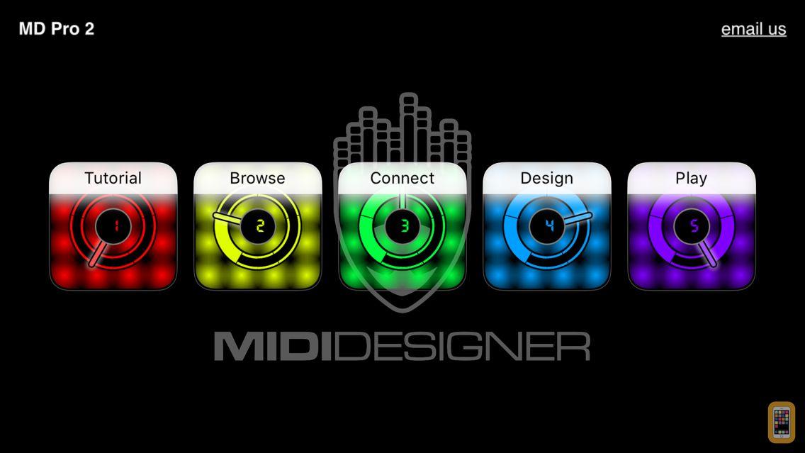 Screenshot - MIDI Designer Pro 2
