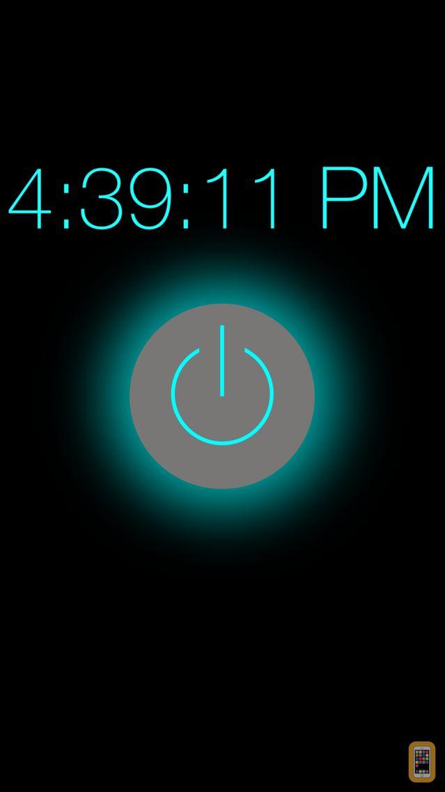 Screenshot - Flashlight - Night Light Clock