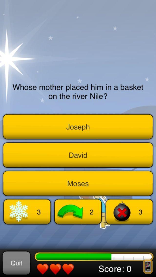 Screenshot - Bible Quizzer