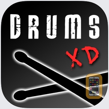 Drums XD FREE - Studio Quality Percussion Custom Built By You! by Squeegees (iPad)