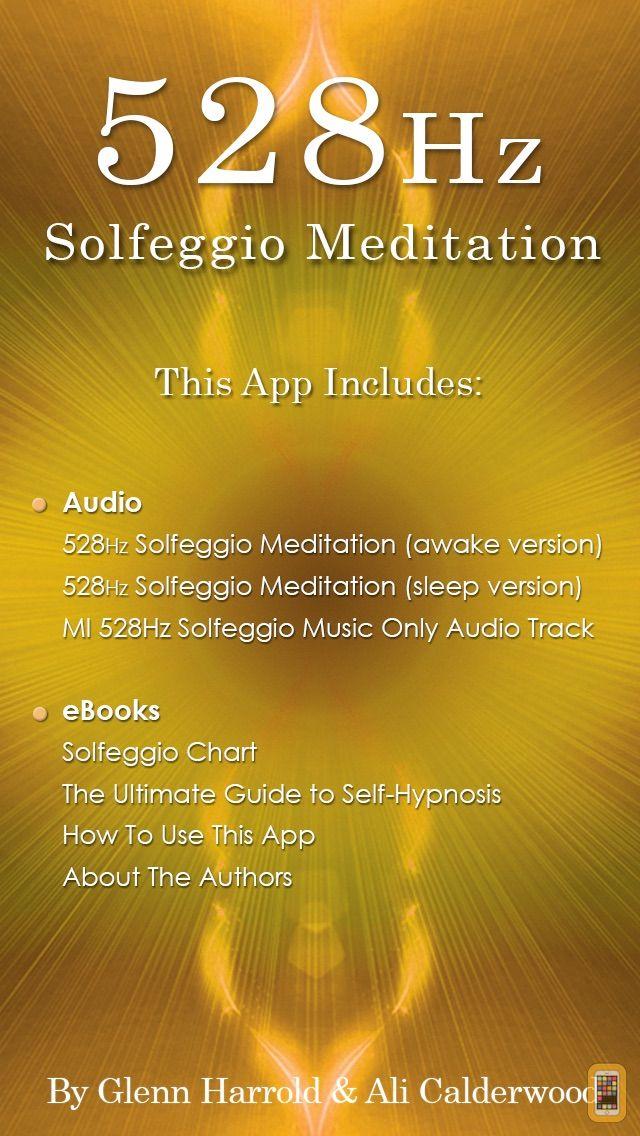 Screenshot - 528hz Solfeggio Sonic Meditation by Glenn Harrold & Ali Calderwood