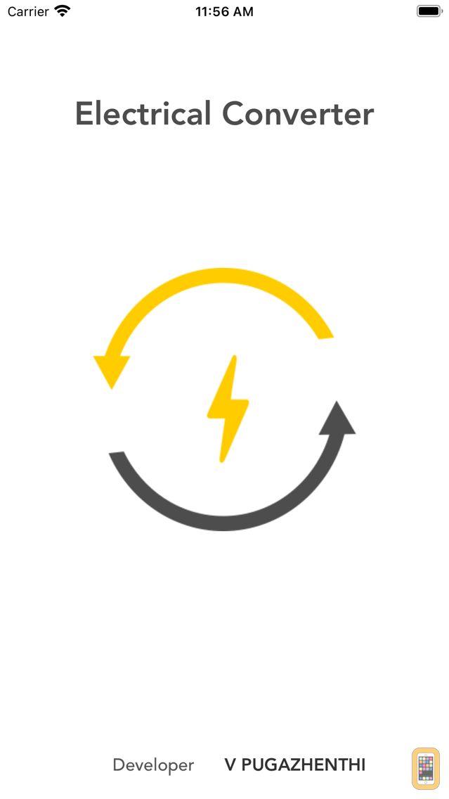 Screenshot - Electrical Converter
