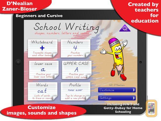 Screenshot - School Writing - learn the abc