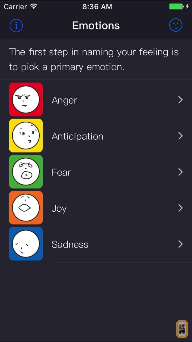 Screenshot - emotionary+ by Funny Feelings®