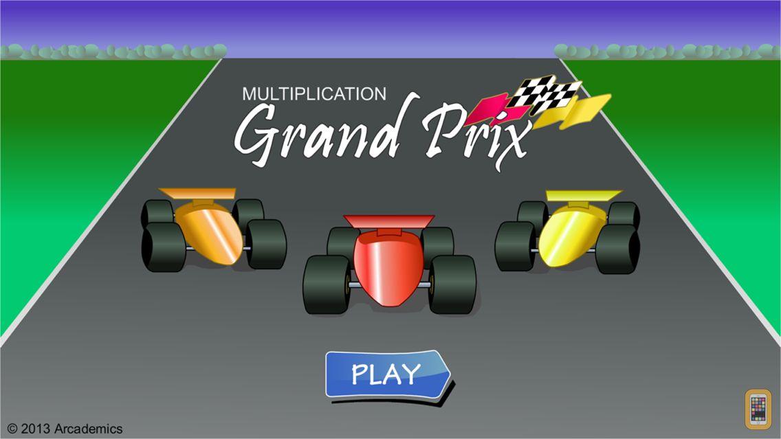 Screenshot - Grand Prix Multiplication