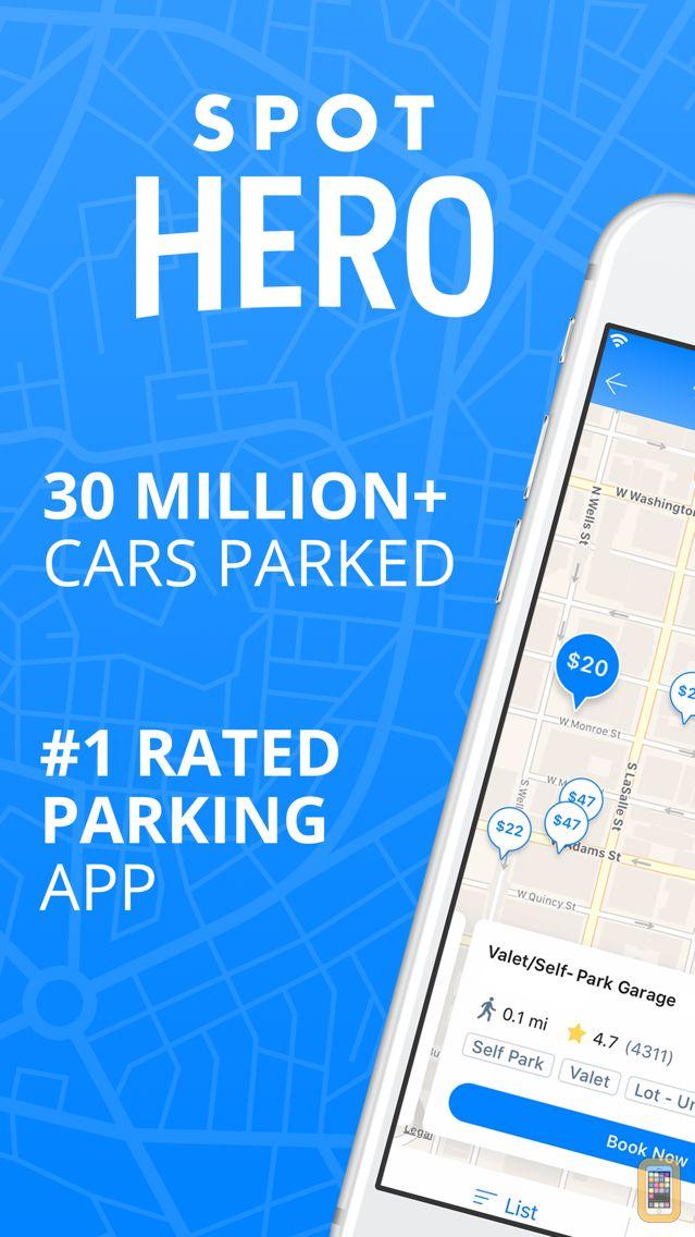 Screenshot - SpotHero: #1 Rated Parking App