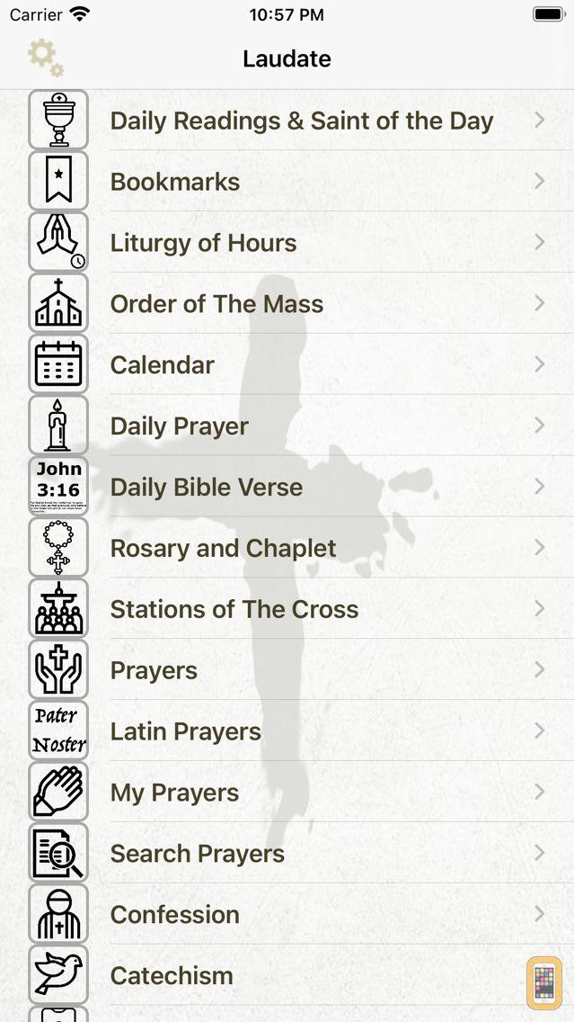 Screenshot - Laudate - #1 Catholic App
