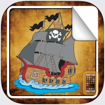 Pirate Sticker Book! by Peep Software (iPad)
