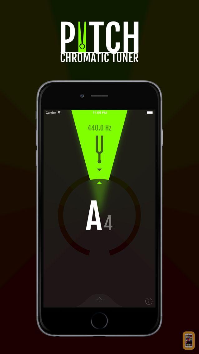 Screenshot - Pitch - Chromatic Tuner