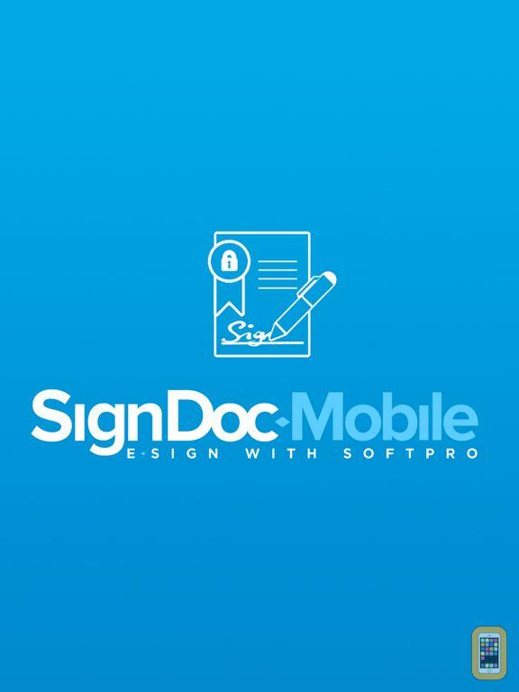 Screenshot - SignDoc Mobile