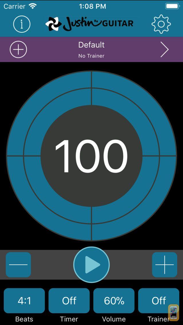 Screenshot - Time Trainer Metronome