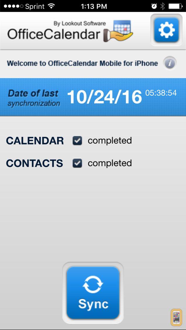 Screenshot - OfficeCalendar Mobile