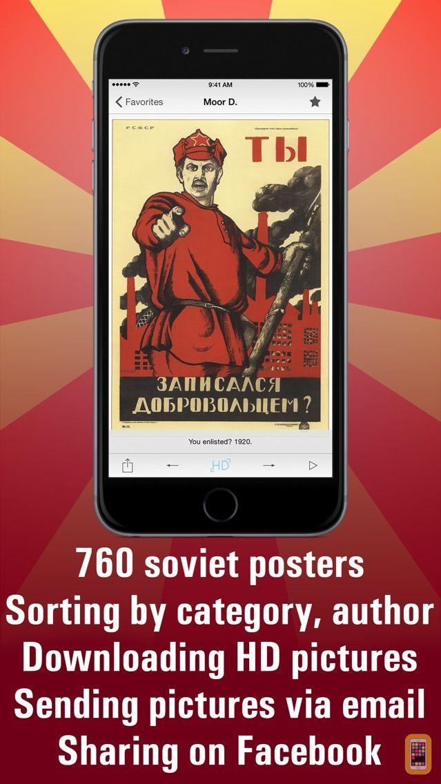 Screenshot - Soviet posters HD
