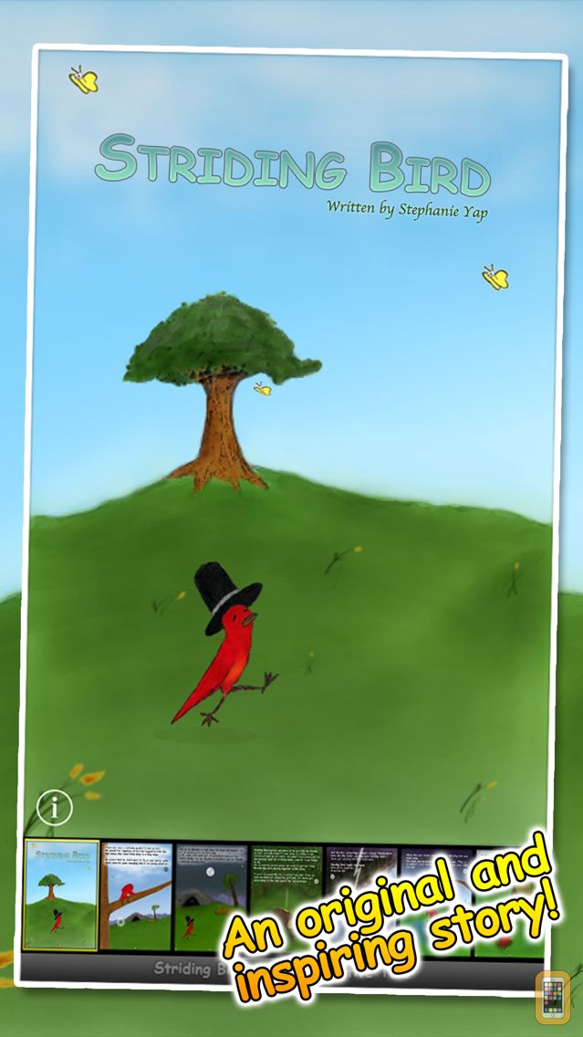 Screenshot - Striding Bird - An inspirational tale for kids