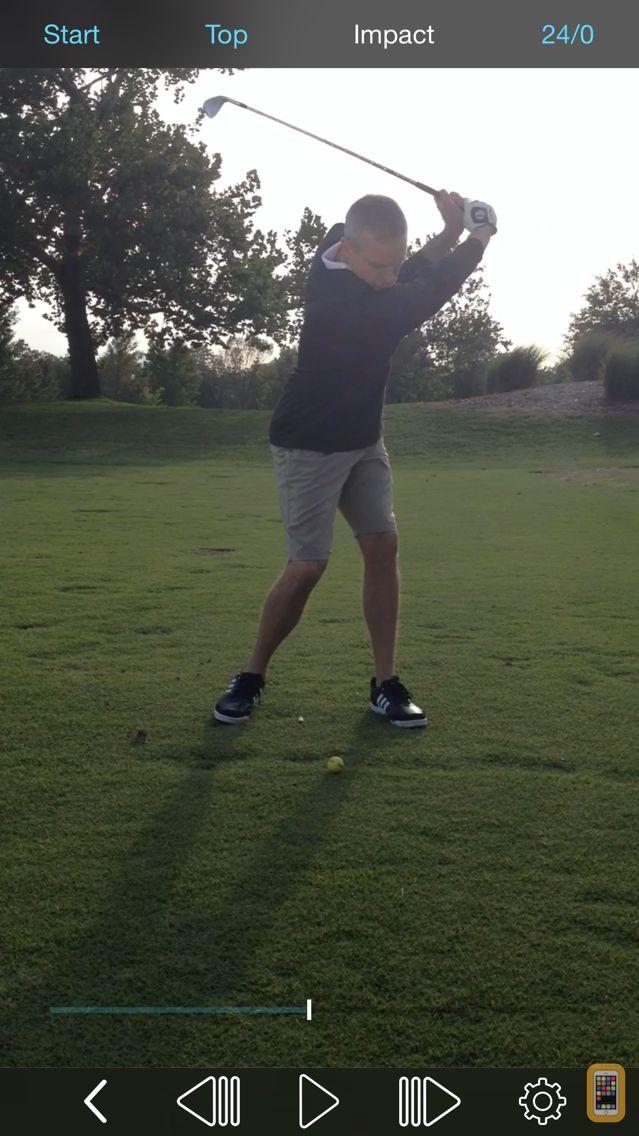 Screenshot - Tour Tempo Frame Counter - Record Golf Swing Video