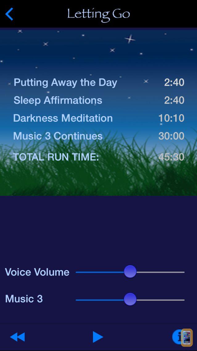 Screenshot - iSleep Easy - Meditations for Restful Sleep