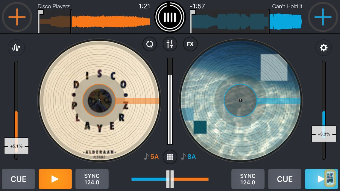 Screenshot - Cross DJ Pro