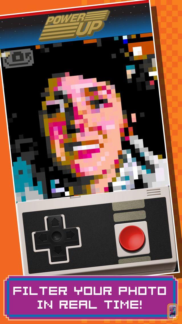 Screenshot - PowerUp - Retro 8-bit Video Game Camera
