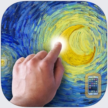 Starry Night Interactive Animation by artof01 (Universal)