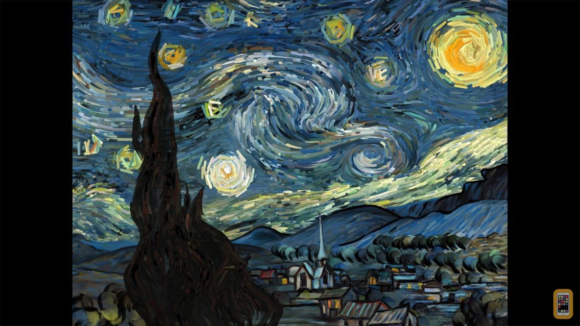 Screenshot - Starry Night Interactive Animation