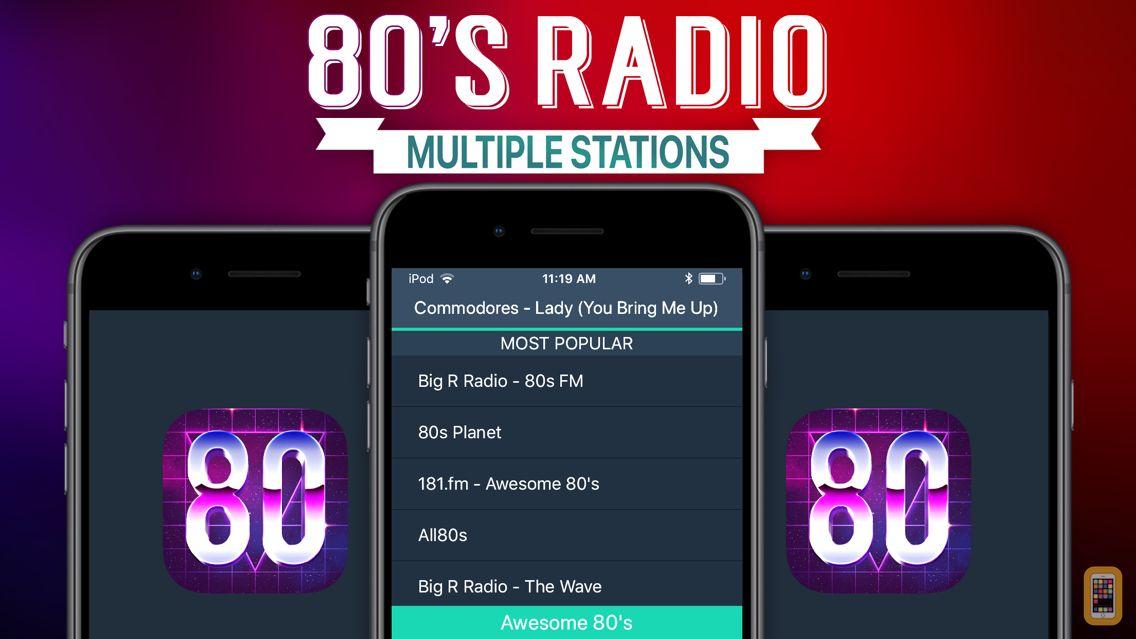 Screenshot - 80s Radio+