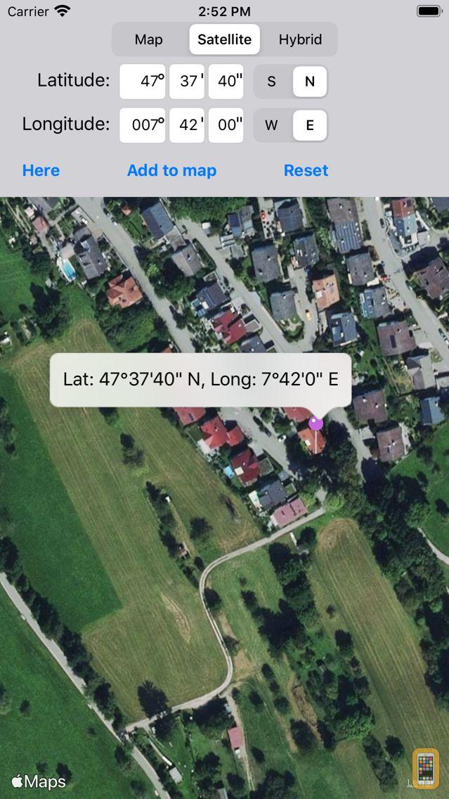Screenshot - Location Finder