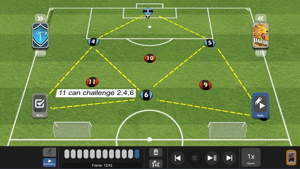 Screenshot - TacticalPad Coach's Whiteboard