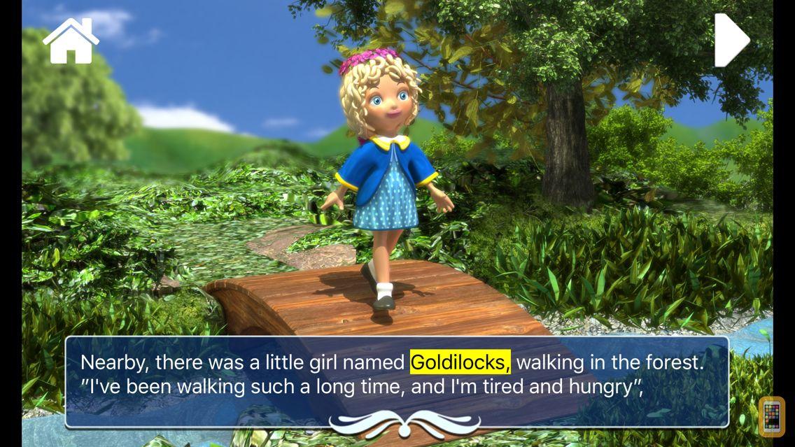 Screenshot - Goldilocks and the three bears - Book & Games