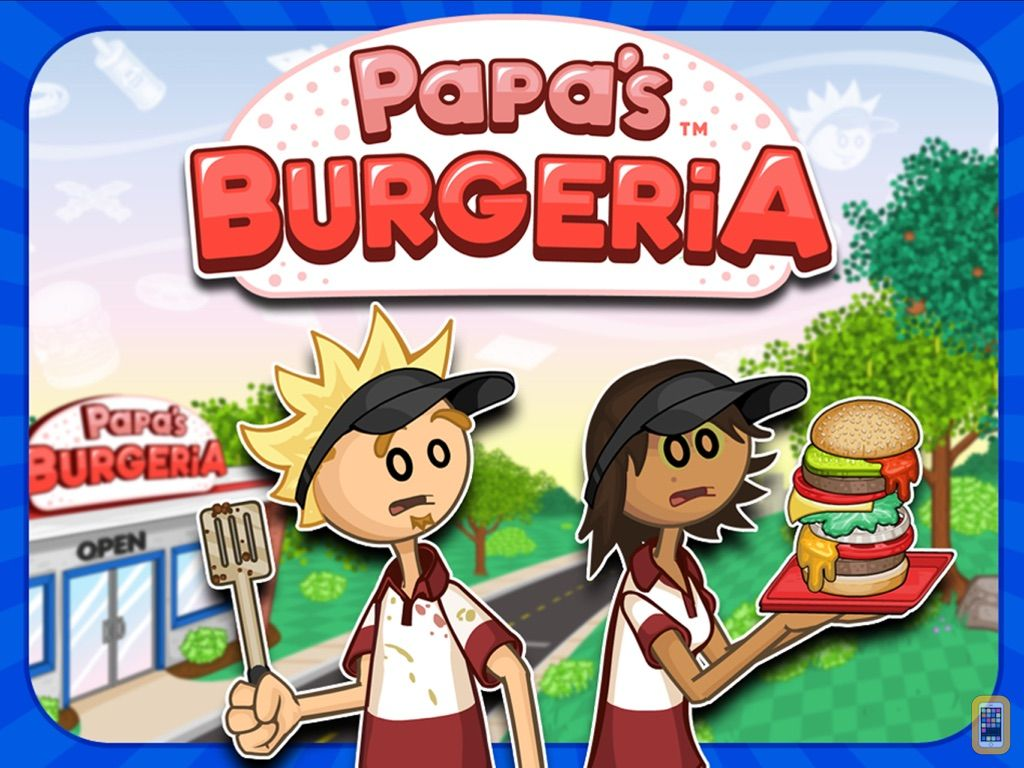 Screenshot - Papa's Burgeria