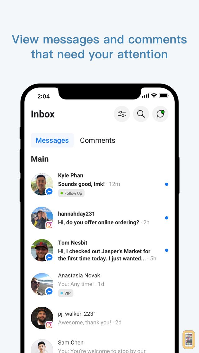 Screenshot - Facebook Pages Manager
