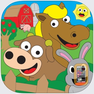 Coloring Farm Animal Coloring Book For Kids Games by Eggroll Games LLC (Universal)