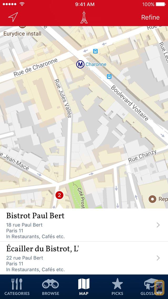 Screenshot - Food Lover's Guide to Paris