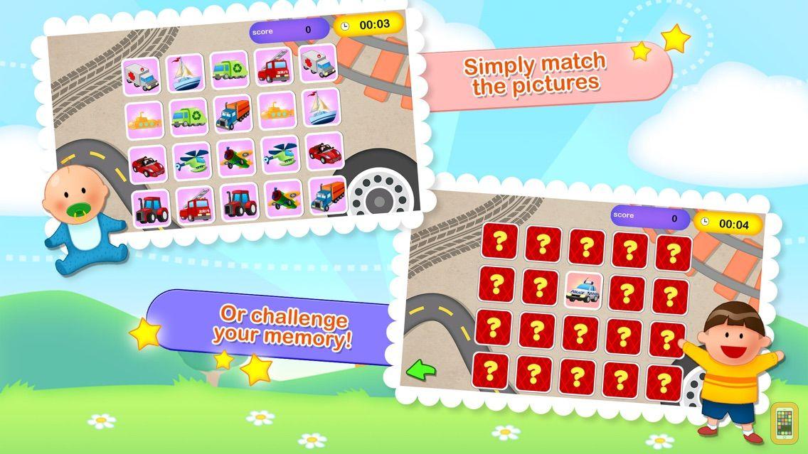 Screenshot - Awesome Memory Match Lite - Fun Matching Game for Kids