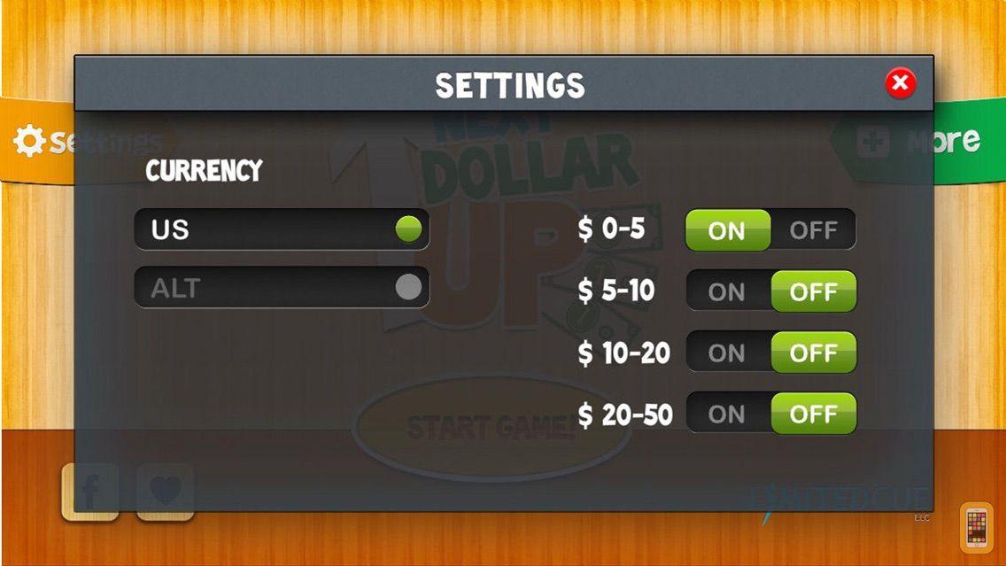 Screenshot - Next Dollar Up