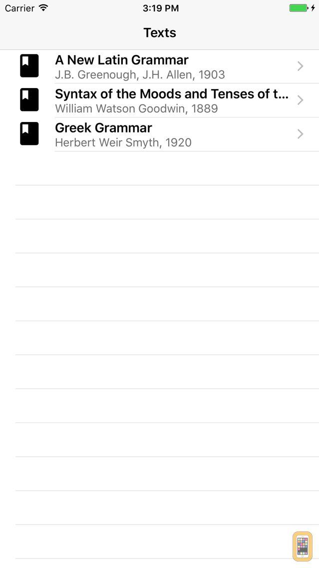 Screenshot - Grammaticus