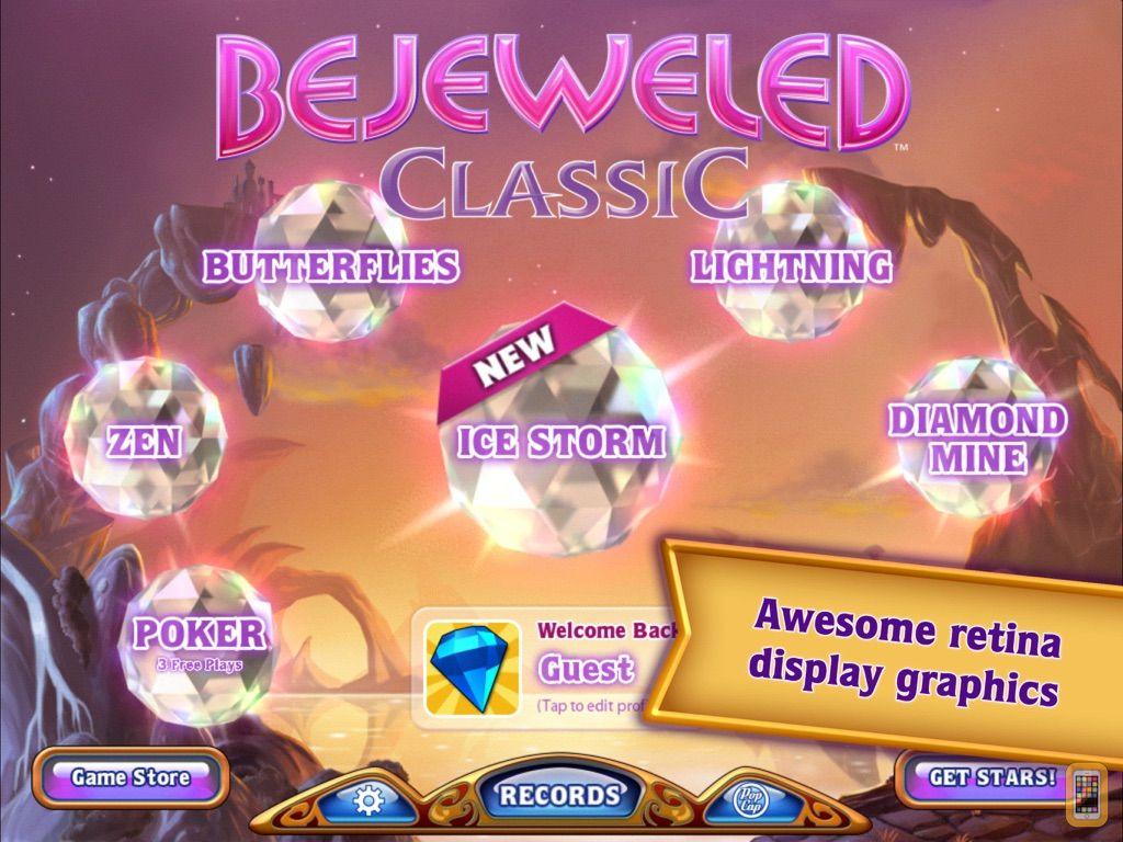 Screenshot - Bejeweled Classic HD