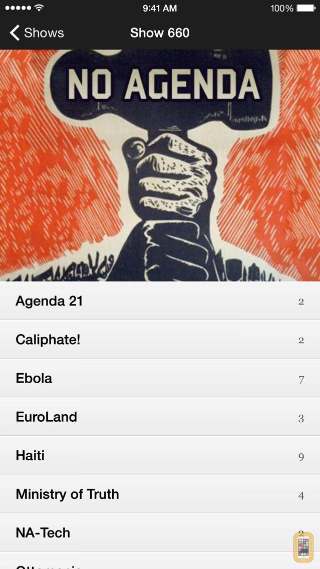 Screenshot - No Agenda News